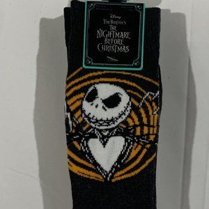 NWT Nightmare Before Christmas Crew Sock